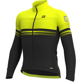 Alé Cycling Graphics PRR Slide Micro Jersey Men black-fluo yellow